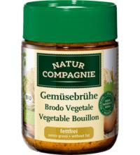 Natur Comp Klare Gemüsebrühe, 162 gr Glas / 9ltr -fettfrei-