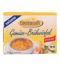 Erntesegen Gemüse Brühwürfel, salzarm, à 11 gr für 0,5 ltr, 6 Stück Pack
