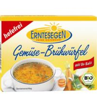 Erntesegen Gemüse Brühwürfel -hefefrei-, á 11 gr für 0,5 ltr , 6 Stück Pack
