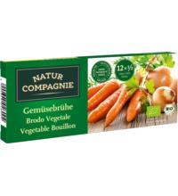Natur Comp Klare Gemüsebrühe, 126 gr Packung