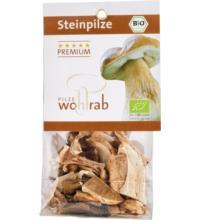 Wohlrab Pilze Steinpilze, getrocknet, 20 gr Packung