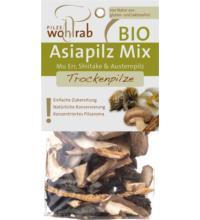 Wohlrab Pilze Asiapilz Mix, getrocknet, 20 gr Packung