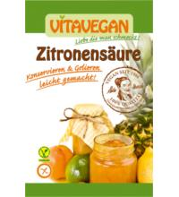 Biovegan Zitronensäure, 10 gr Beutel