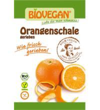 Biovegan geriebene Orangenschale, 9 gr Beutel