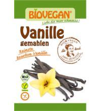Biovegan Bourbon Vanille gemahlen, 5 gr Beutel