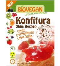 Biovegan Konfitura ohne Kochen, 18 gr Packung