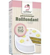 Global Sweets Trading GmbH Rollfondant weiß, 200 gr Packung