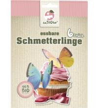 Global Sweets Trading GmbH Essbare Schmetterlinge, 6x 0,66 gr Packung