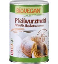 Biovegan BindeFix Bio Pfeilwurzmehl, 200 gr Dose -glutenfrei-