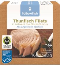 followfish Skipjack in Olivenöl, 160 gr Dose (120 gr)