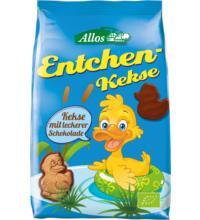Allos Entchen-Kekse mit Vollmilch-Schokolade, 150 gr Packung