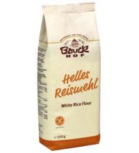Bauck Hof Reismehl hell, 500 gr Packung -glutenfrei-