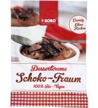 Sobo Dessertcreme Schoko-Traum, 74 gr Packung