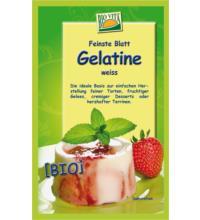 Bio Vita Blattgelatine aus k.b.A., 10 gr Beutel