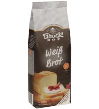 Bauck Hof Weißbrot, 500 gr Packung - glutenfrei -