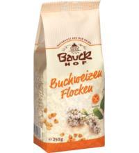 Bauck Hof Buchweizenflocken, 250 gr Packung -glutenfrei-
