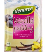 dennree Pudding Vanille 3 x 38 gr, 114 gr Packung