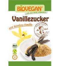 Biovegan Vanillezucker mit Bourbon,5x8 gr Packung, 5+1 Saatgut Wintervorteilsaktion