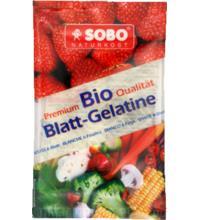 Sobo Blattgelatine 6 Blatt, 10 gr Beutel