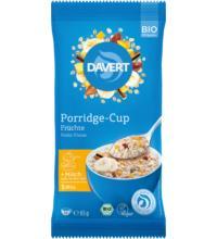 Davert Porridge-Cup Früchte, 65 gr Packung