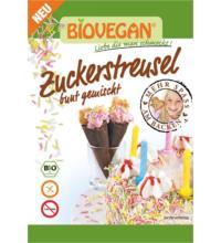 Biovegan Zuckerstreusel, bunt, 70 gr Tüte