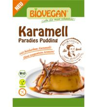 Biovegan Paradies Pudding Karamell, 43 gr Packung