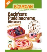 Biovegan backfeste Puddingcreme Himbeere, 52 gr Packung
