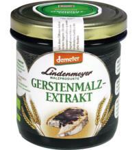 Lindenmeyer Demeter Gerstenmalzextrakt, 400 gr Glas