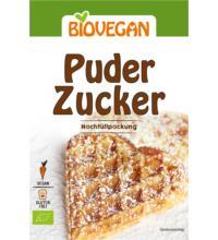 Biovegan Puderzucker im Nachfüllpack, 100 gr Packung