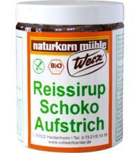 Werz Reissirup-Aufstrich Schokoart, 300 gr Glas -glutenfrei-