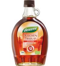 dennree Canadischer Ahornsirup, Dark Robust Taste, 375 ml Flasche