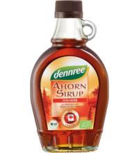 dennree Canadischer Ahornsirup, Dark Robust Taste, 250 ml Flasche