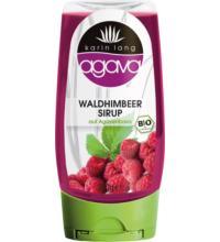 Karin Lang agava Waldhimbeersirup, 350 gr Flasche -auf Agavenbasis-
