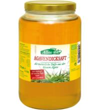 Allos Agavendicksaft, 725 ml Glas