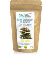Kulau GmbH Algenchips Hot Ginger, 25 gr Packung