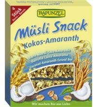 Rapunzel Müsli-Snack Kokos-Amaranth, 116 gr Packung