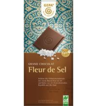 Gepa Grand Chocolat Fleur de Sel 37%, 100 gr Stück