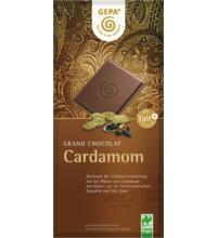 Gepa Grand Chocolat Cardamom 38%, 100 gr Stück