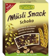 Rapunzel Müsli-Snack Schoko 4 Stück a 29 gr, 116 gr Packung