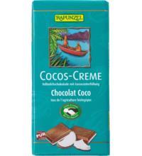 Rapunzel Cocos Creme Vollmilch, 100 gr Stück
