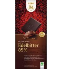Gepa Grand Noir Edelbitter 85%, 100 gr Stück