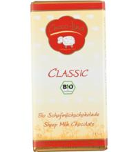 Choco - Lina Schafvollmilchschokolade, 90 gr Stück -glutenfrei-