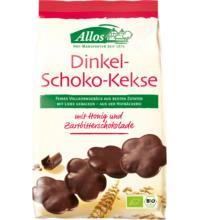 Allos Dinkel-Schoko-Kekse, 125 gr Packung
