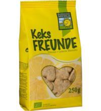 Bohlsener KeksFREUNDE Zitrone, 250 gr Packung