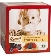 Flemming Dinkel Torteletts, 6x 25 gr, 150 gr Packung