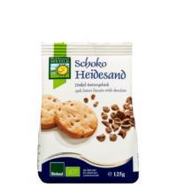 Bohlsener Dinkel-Schoko-Heidesand, 125 gr Packung