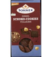 Sommer Dinkel Schoko-Cookies,Vollkorn, 150 gr Packung