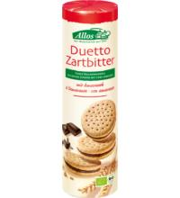 Allos Duetto Zartbitter, 330 gr Packung