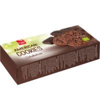 linea natura American Schoko Cookies, 175 gr Packung
