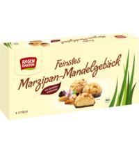 Rosengarten Marzipan-Mandel Gebäck mit Zartbitterschokolade, 100 gr Packung